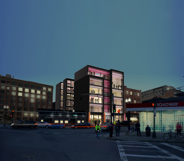 Rendering of West Broadyway - Evergreen Property Group