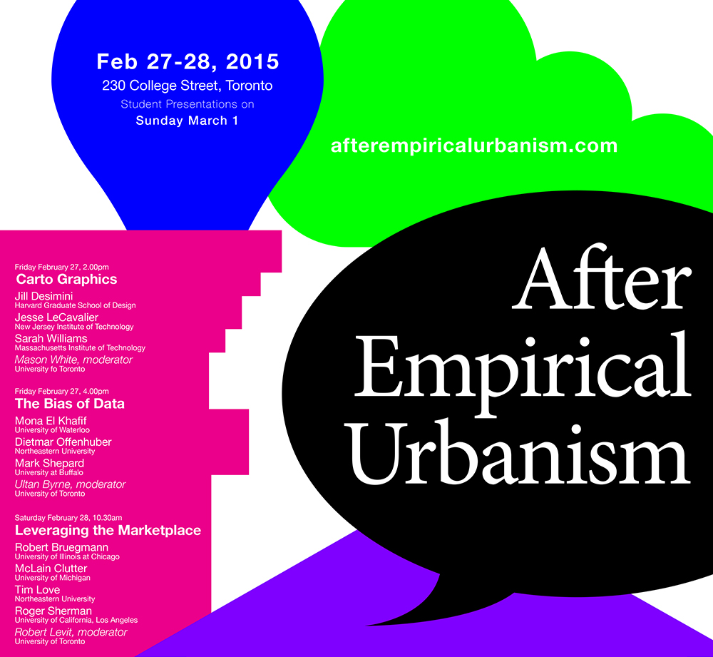 After Empirical Urbanism