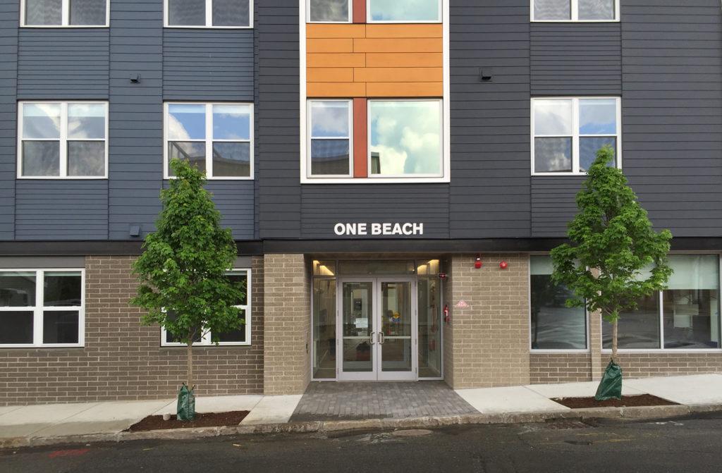 One Beach Entry