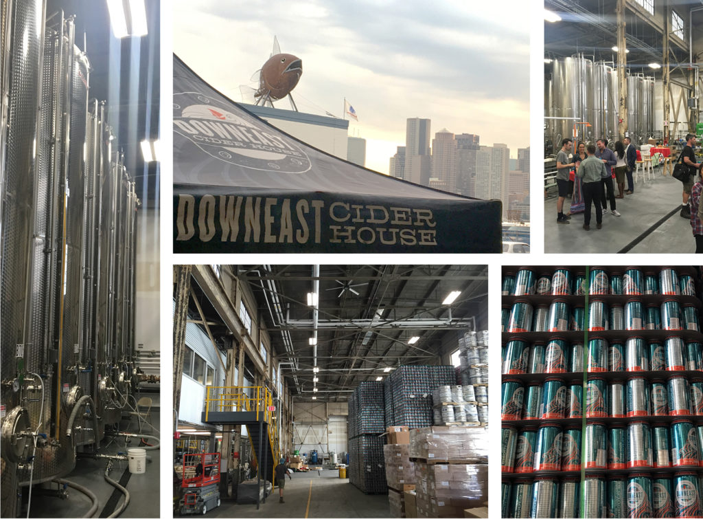 Downeast Cider Opening