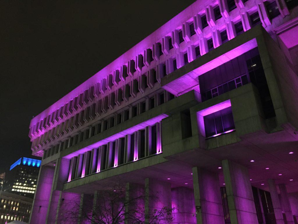City Hall Lighting