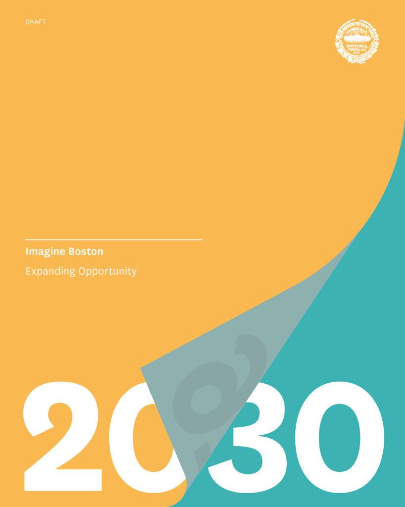 Imagine Boston 2030 Cover