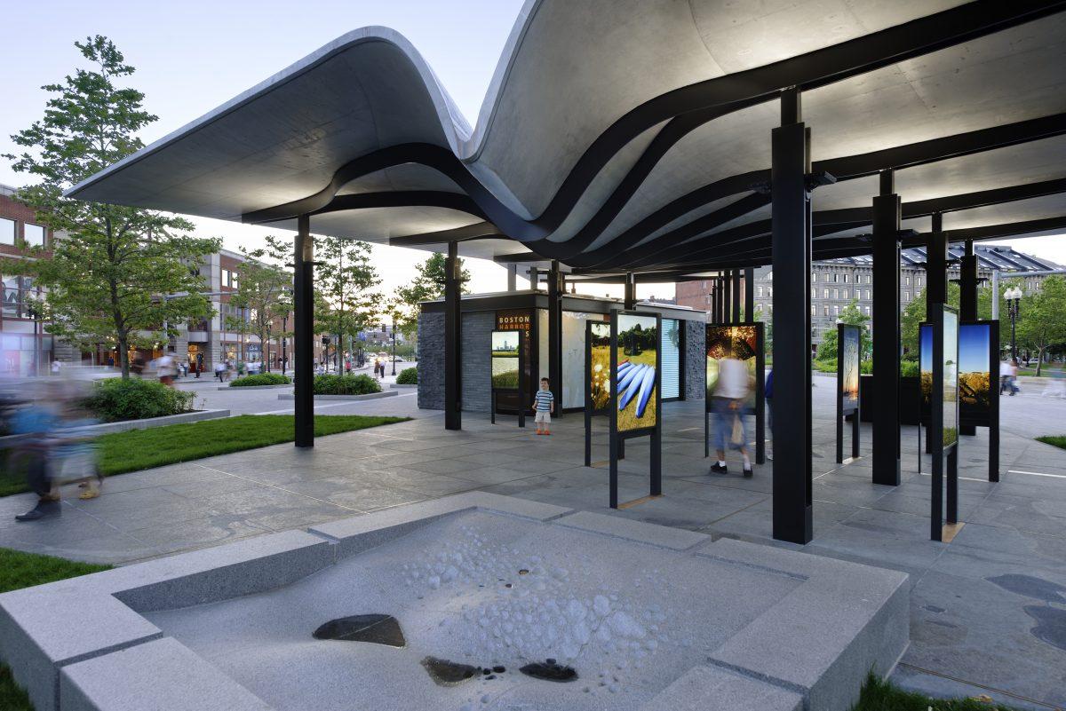 Boston Harbor Islands Pavilion Utile Architecture Amp Planning
