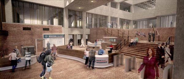 Boston City Hall Lobby Renovation