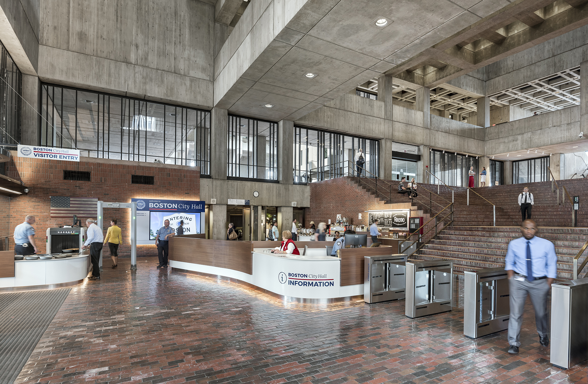 Boston City Hall Public Spaces Renovation receives Architizer 2019 A+ Award!