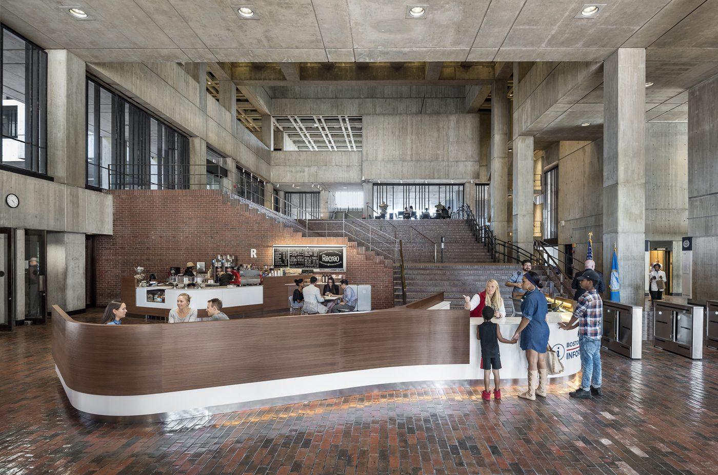 Boston City Hall Lobby Renovation Utile Architecture