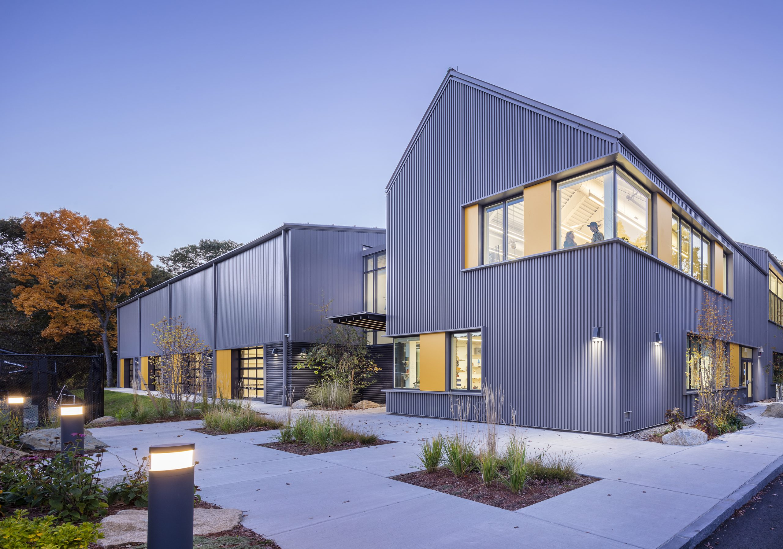 Belmont Day School Barn wins 2021 AIA Education Facility Design Award of Excellence!