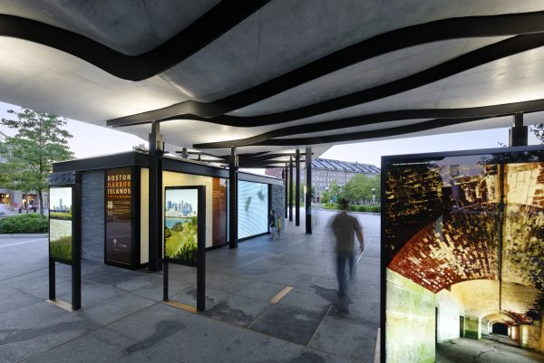 Boston Harbor Islands Pavilion Exhibit Design