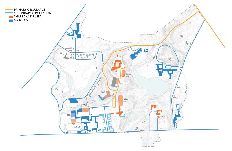 map of cranbrook campus Cranbrook Master Plan Update Utile Architecture Planning map of cranbrook campus