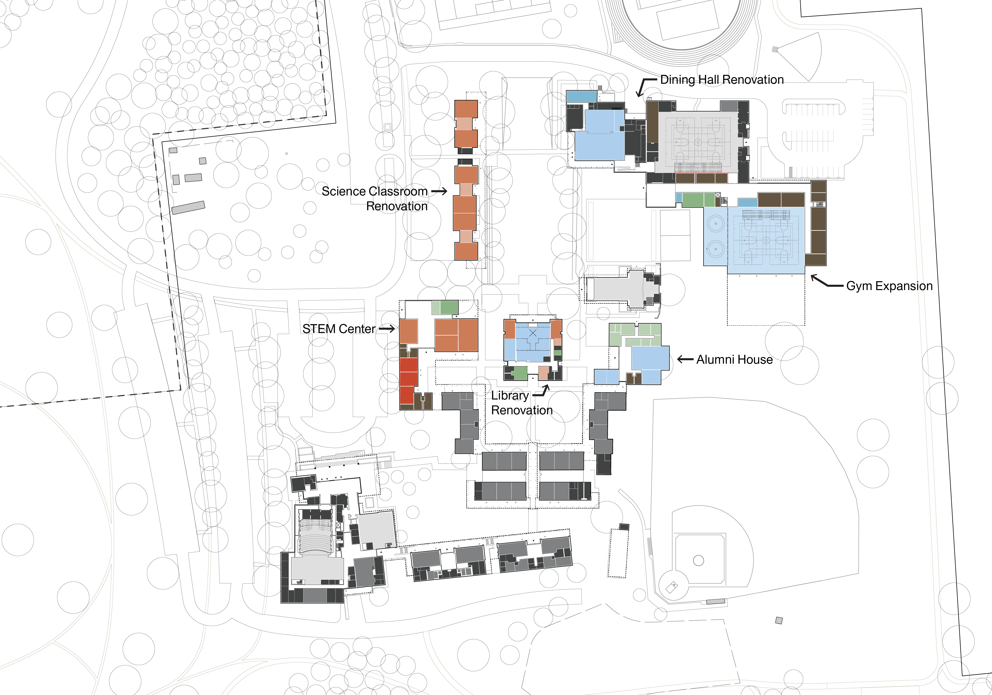 St Andrew S School Master Plan Utile Architecture Planning