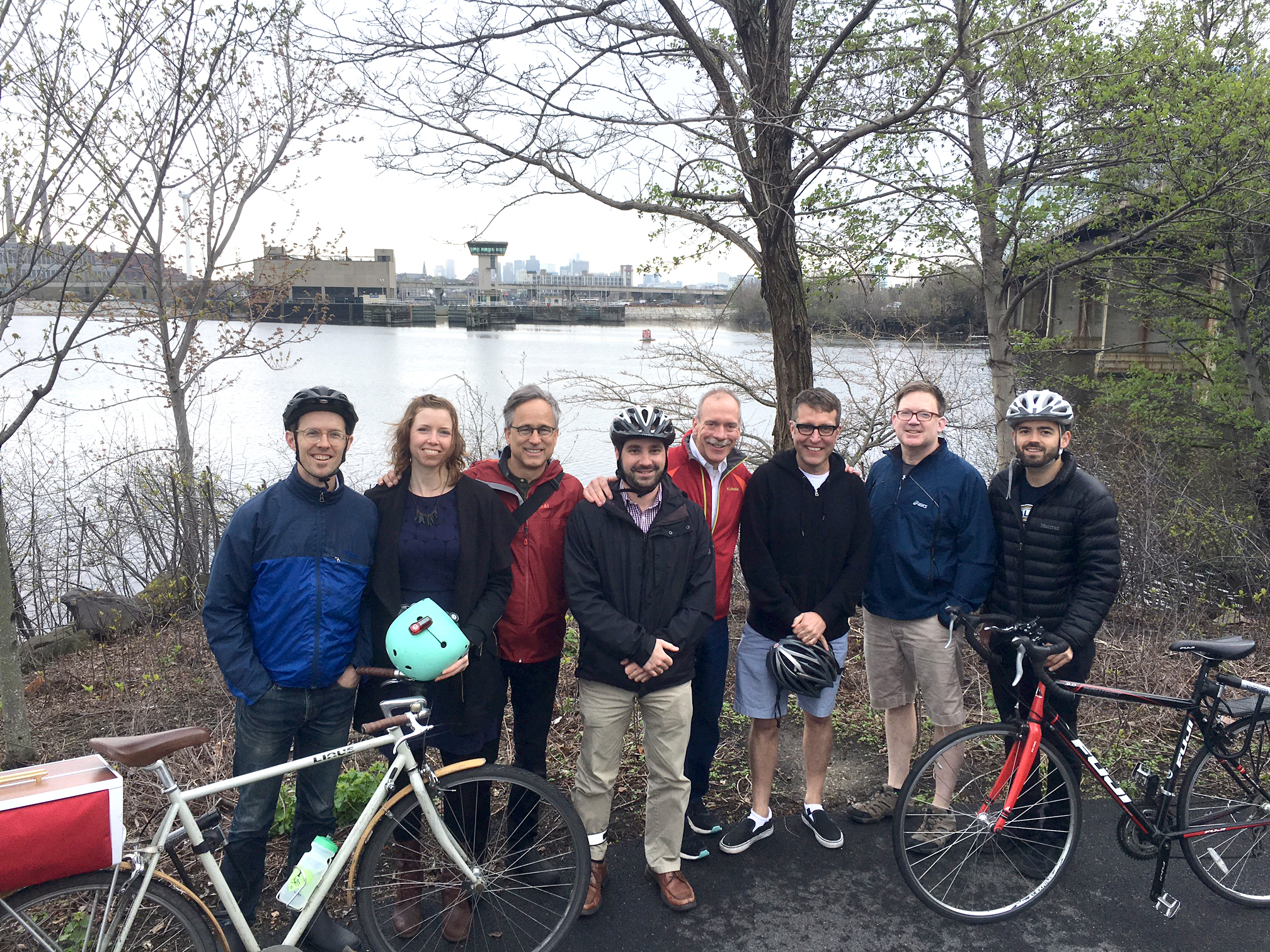 Utile plans for new greenways along the Malden River