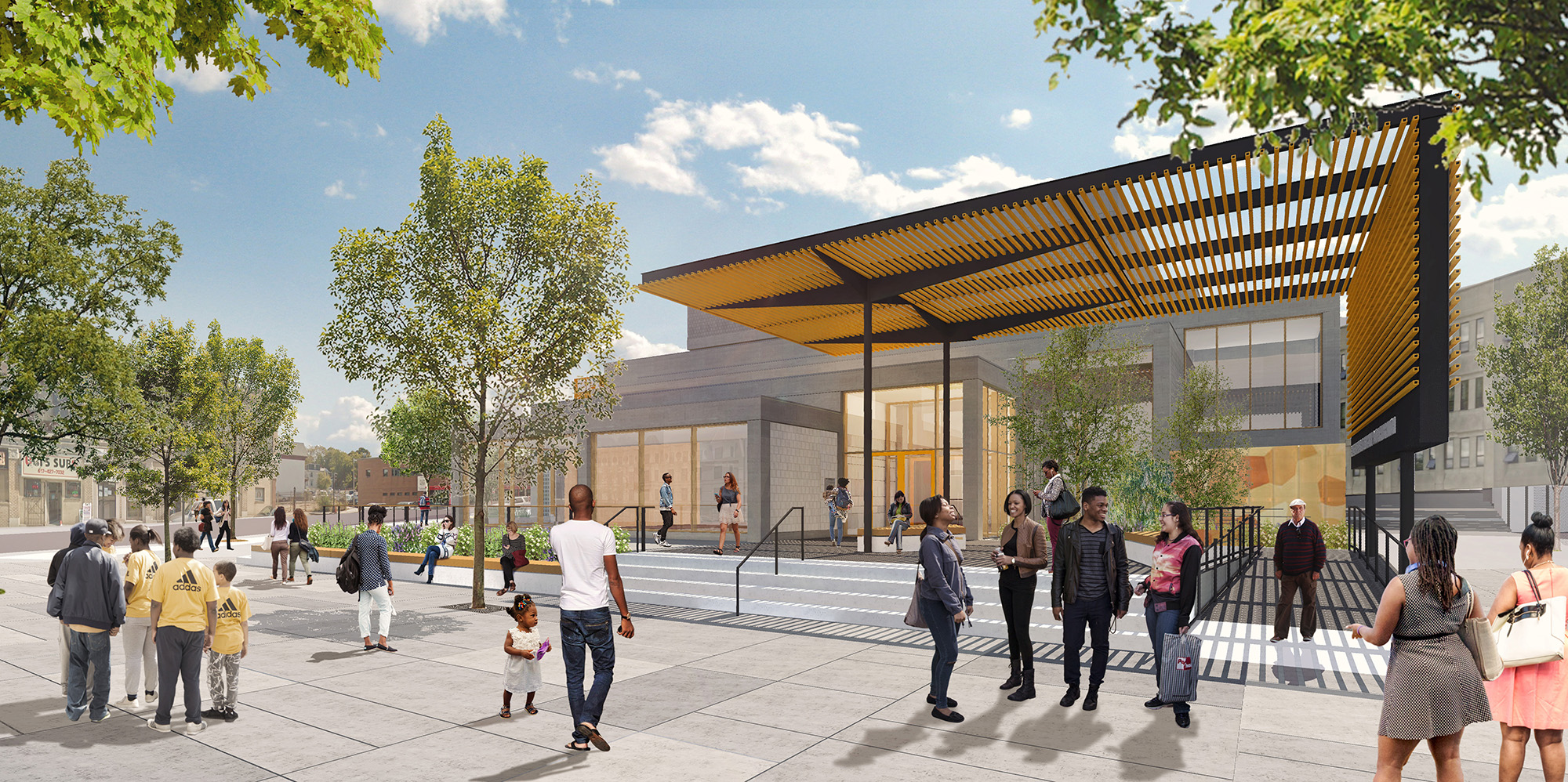 Dudley Branch of the Boston Public Library voted Boston's Best New Development!