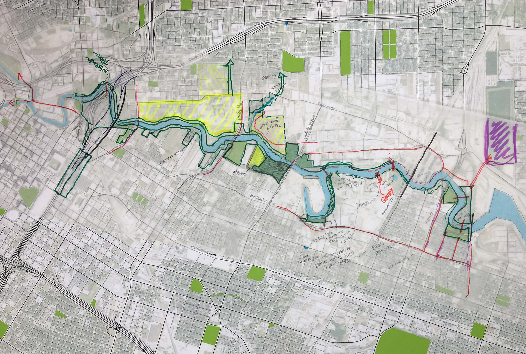 "Utile to Design Innovative ""Complete Neighborhoods"" for Buffalo Bayou's East Sector in Houston"
