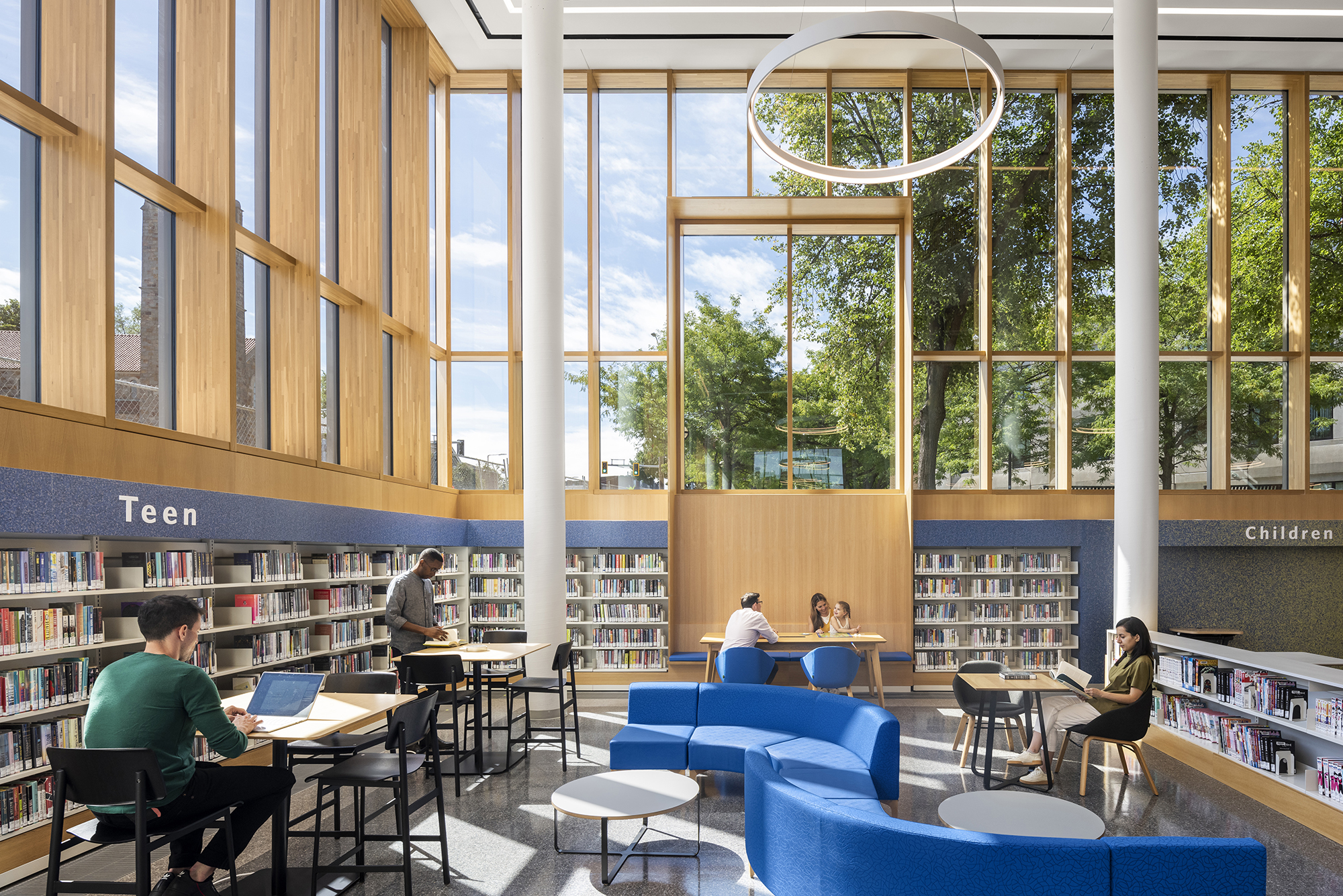 The Roxbury Branch of the Boston Public Library reopens its doors!