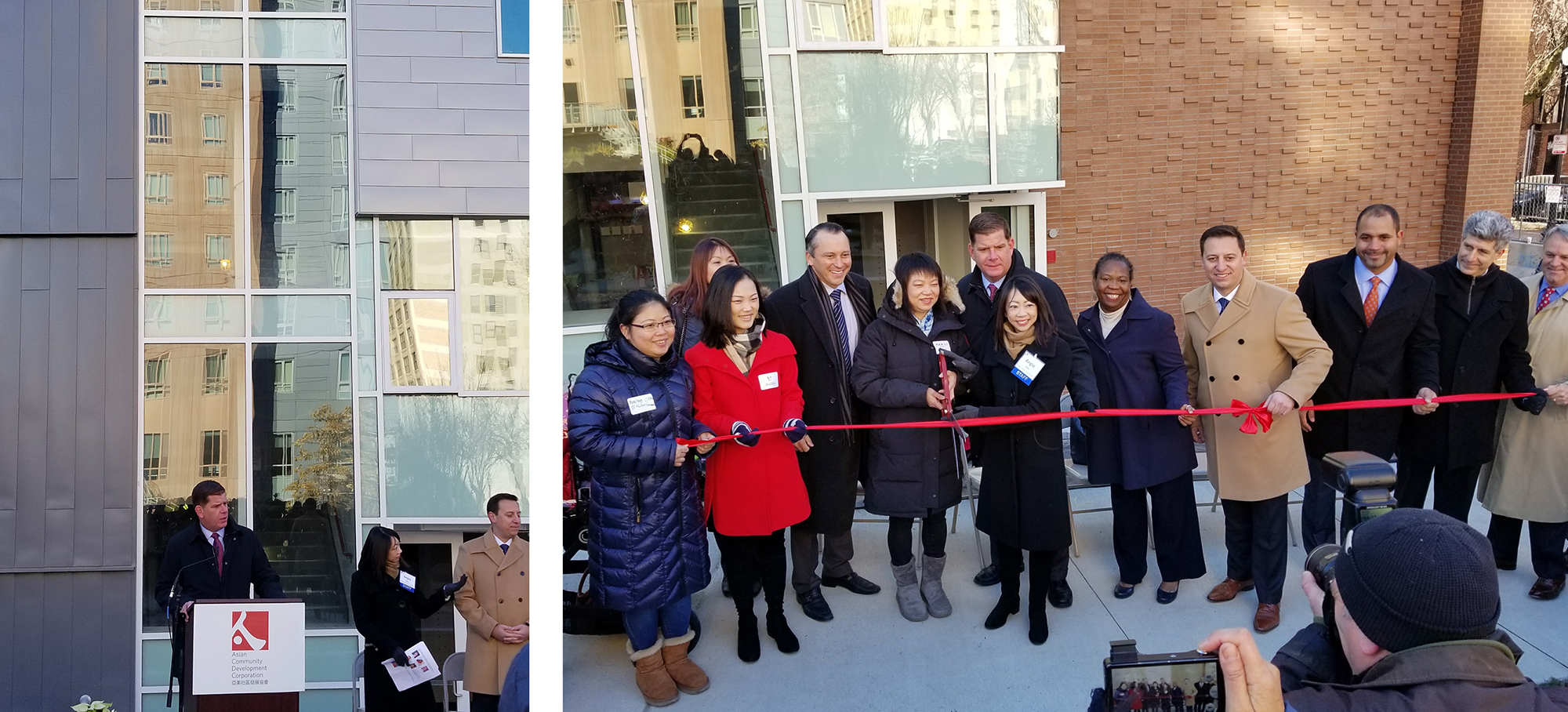 Utile celebrates 88 Hudson ribbon cutting with ACDC