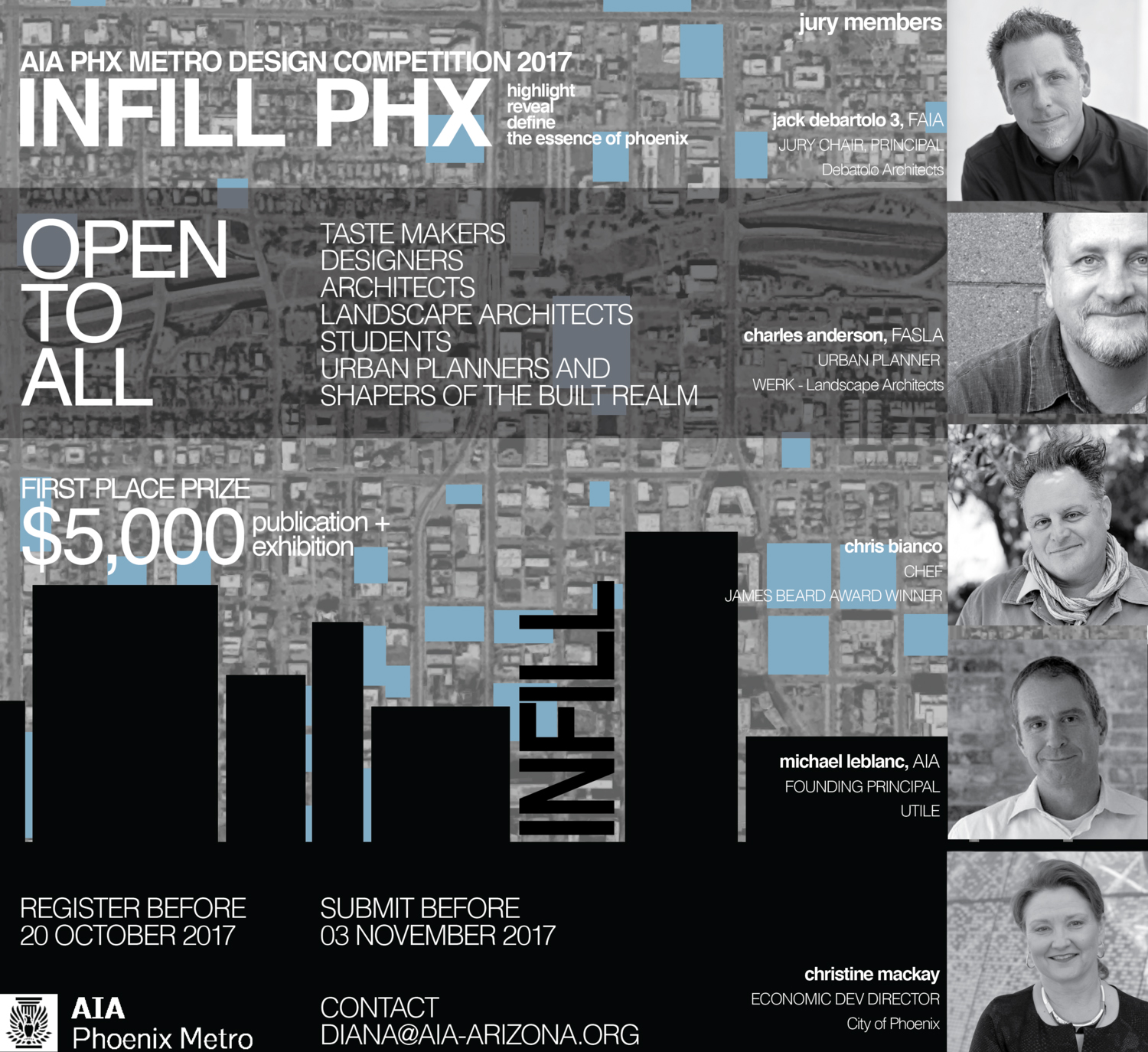 Michael LeBlanc serves as juror for AIA Phoenix competition