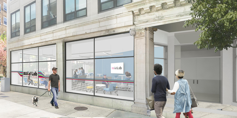 Utile designs Build Lab for Boston University's Innovate@BU