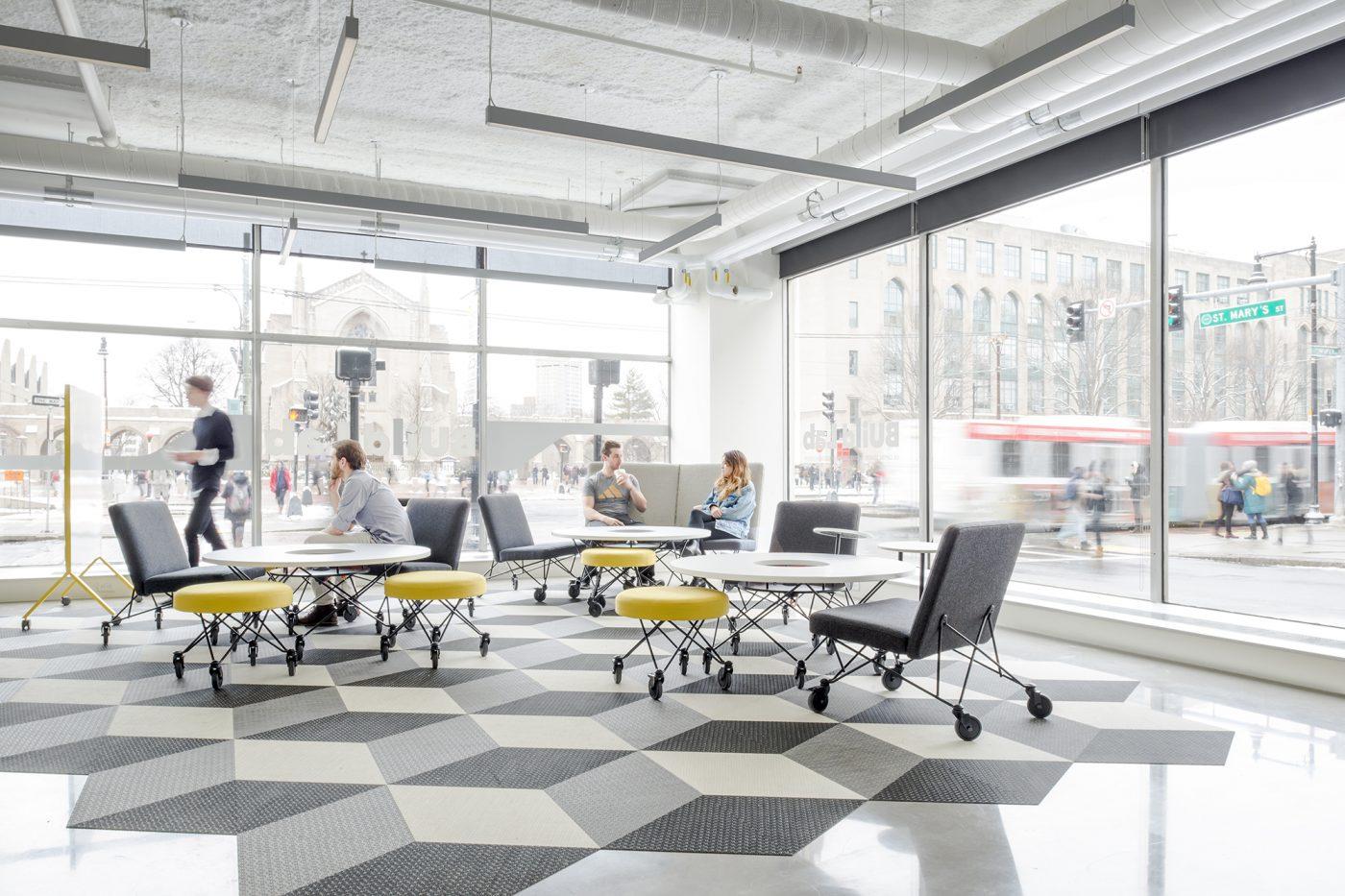 boston university build lab utile architecture planning