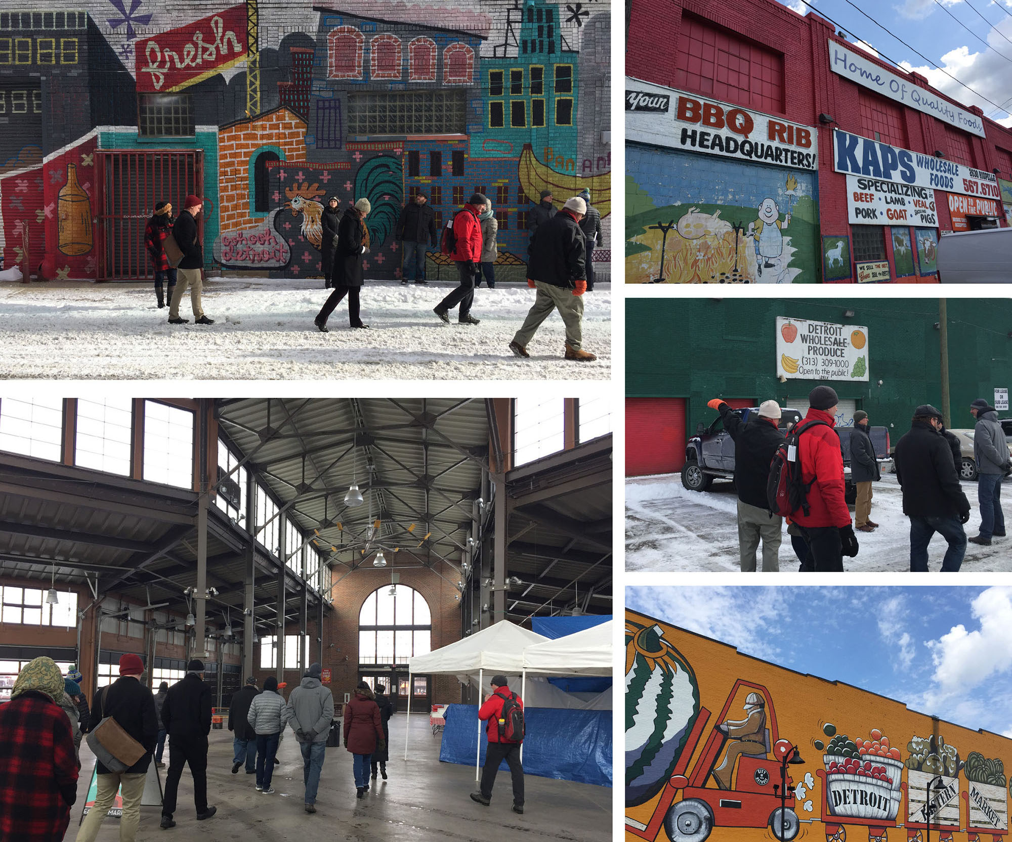 Utile begins planning for the growth of Detroit's Eastern Market