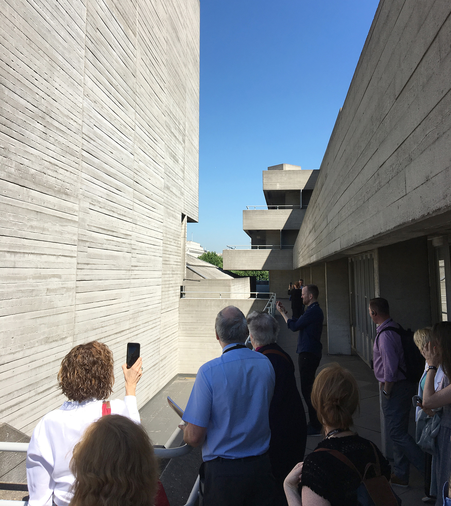 Utile attends the Getty Foundation's London Conservation Management Planning Workshop