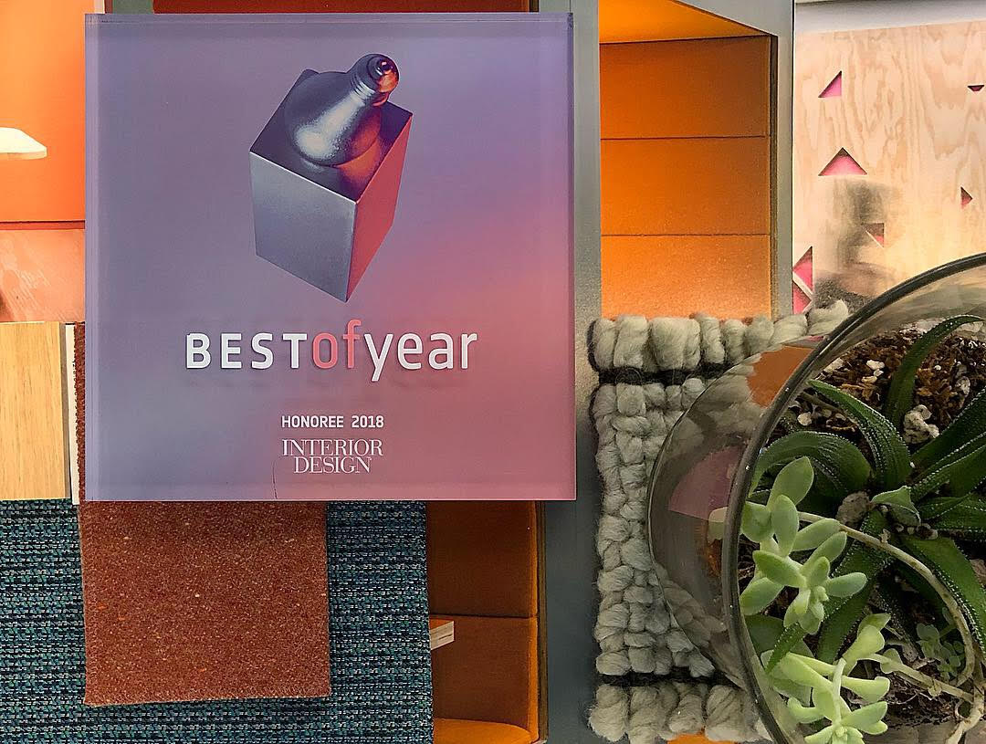 Kendall Square Workspace recognized at Interior Design Best of Year Awards