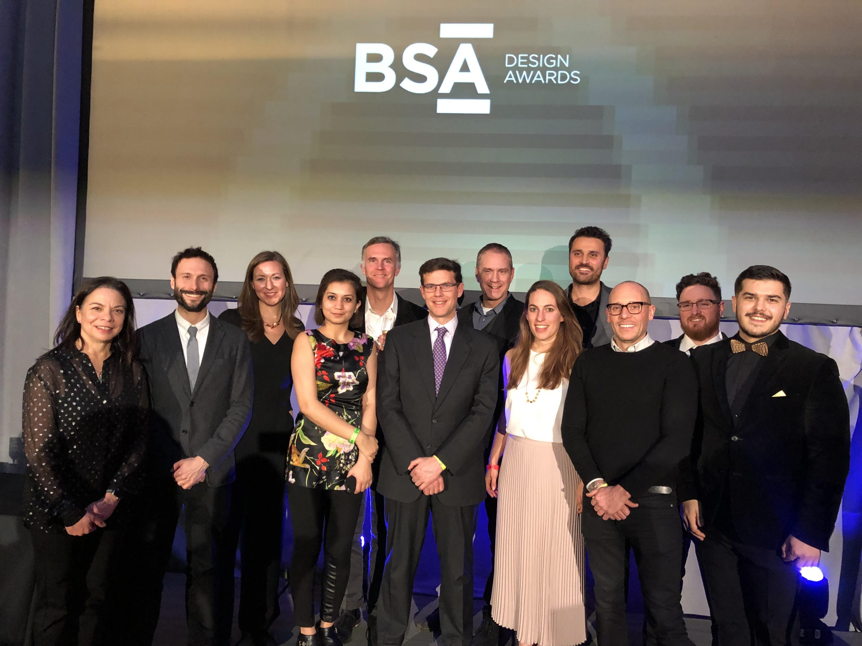 Utile wins two awards at the 2018 BSA Design Awards