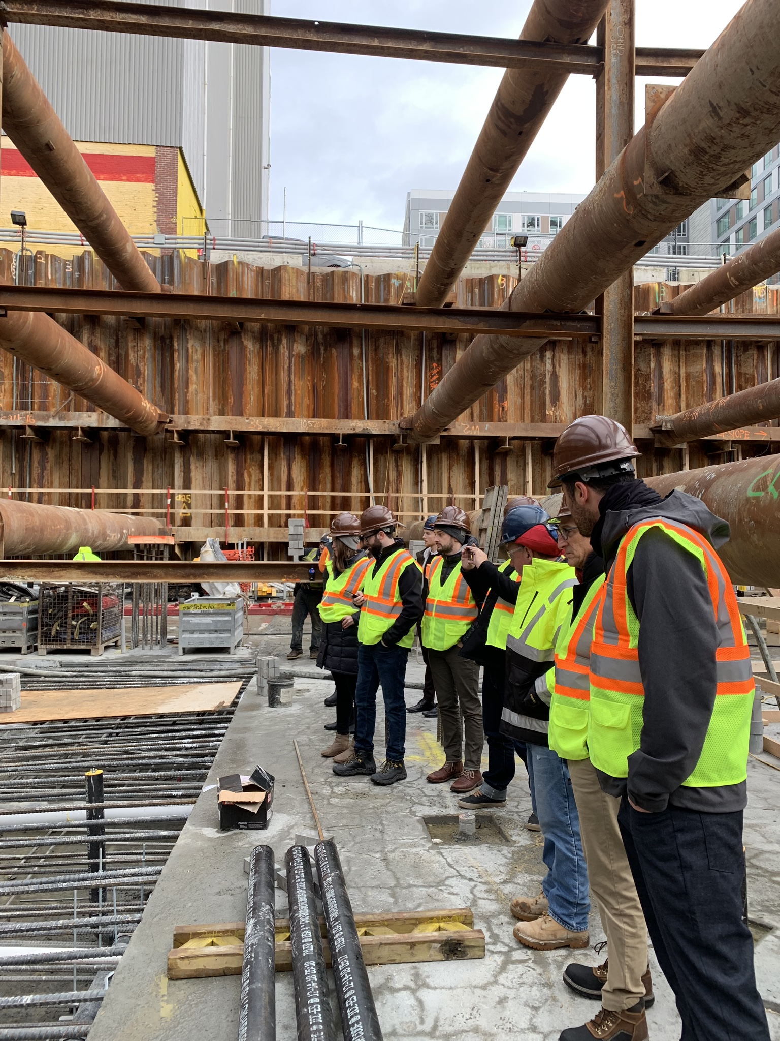 Checking in on 380 Harrison's rising steel