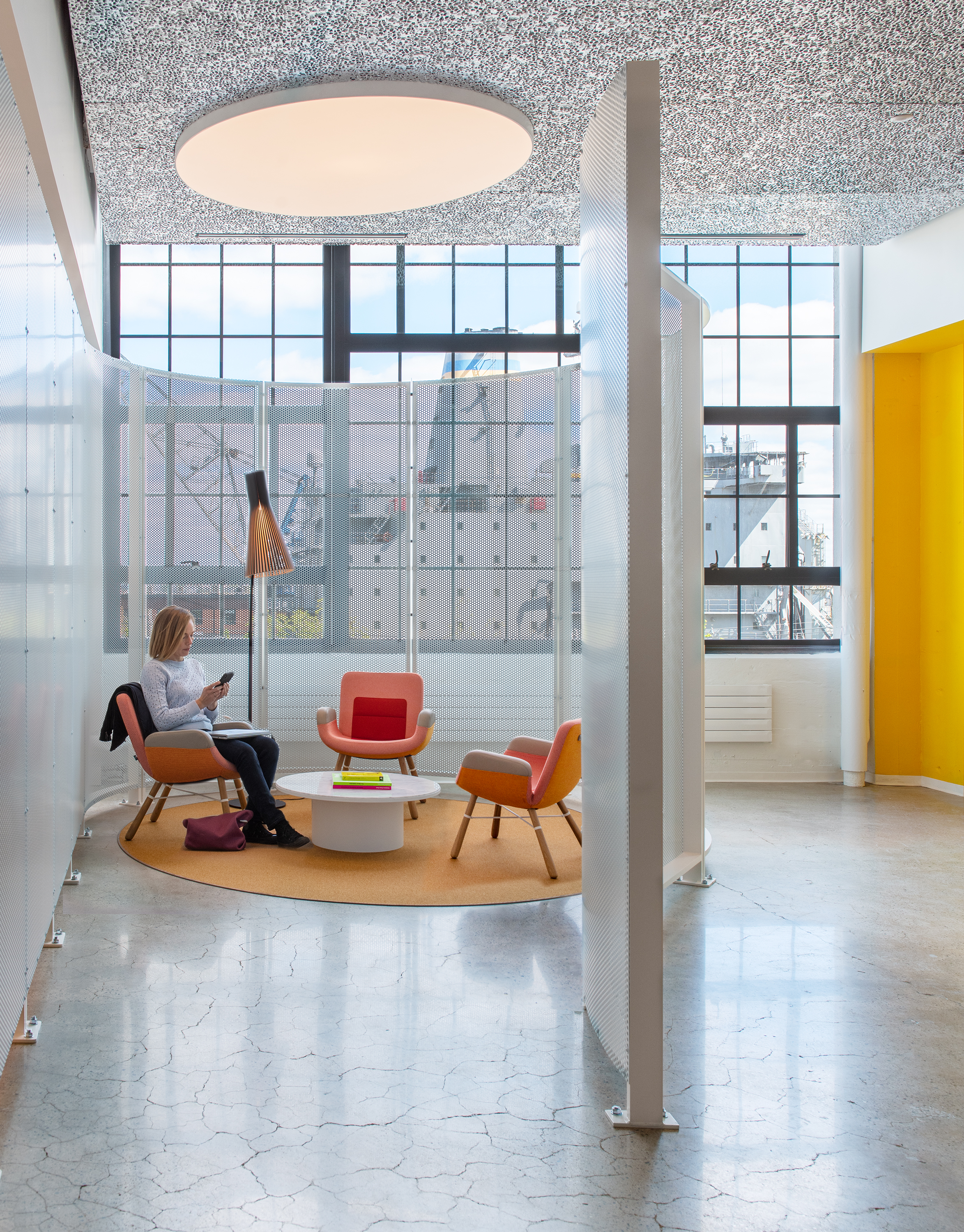 Utile's Autodesk Boston Workspace Expansion featured in AN Interior!