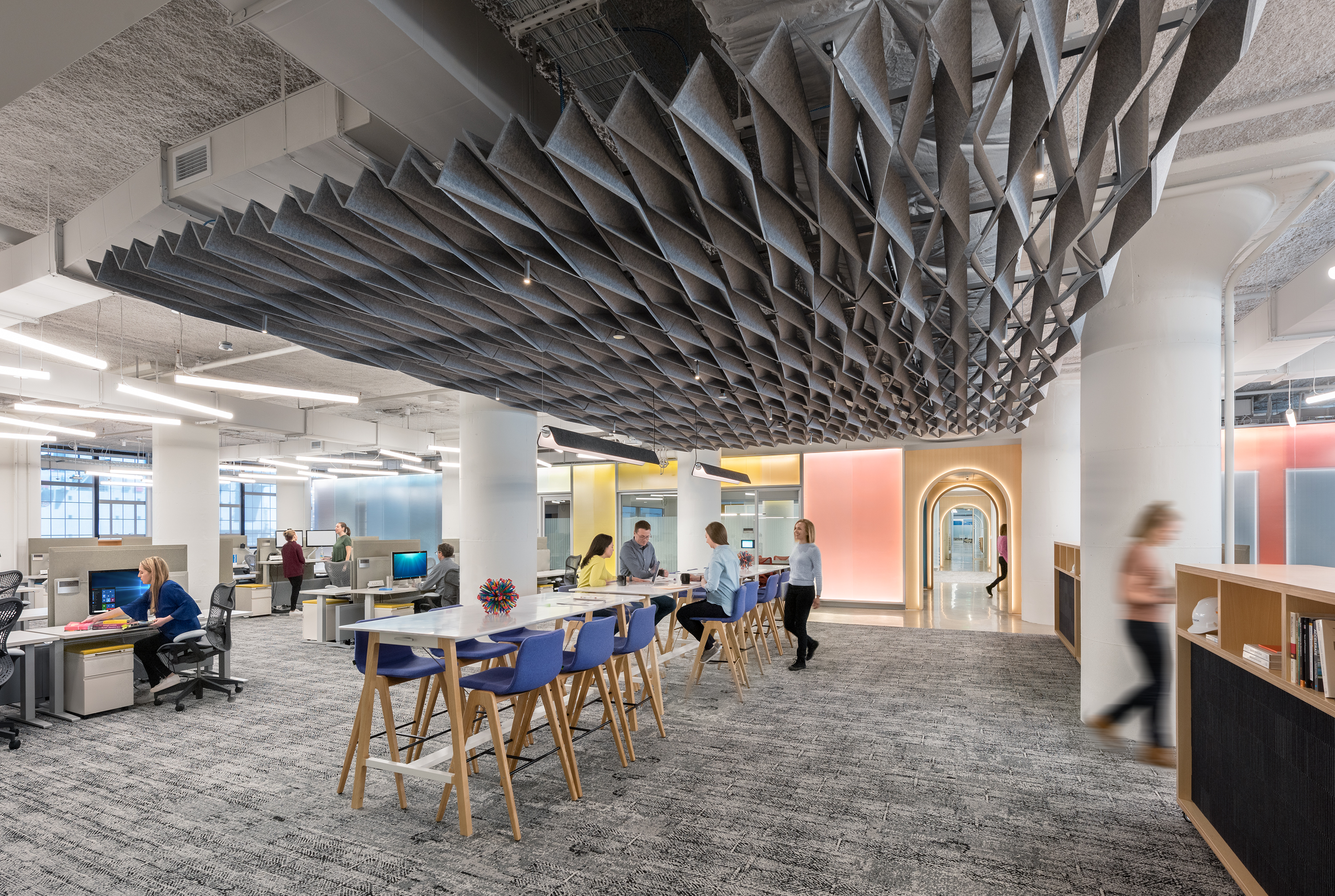 Autodesk Boston Workspace Expansion is an Architizer A+ Awards finalist – please vote!