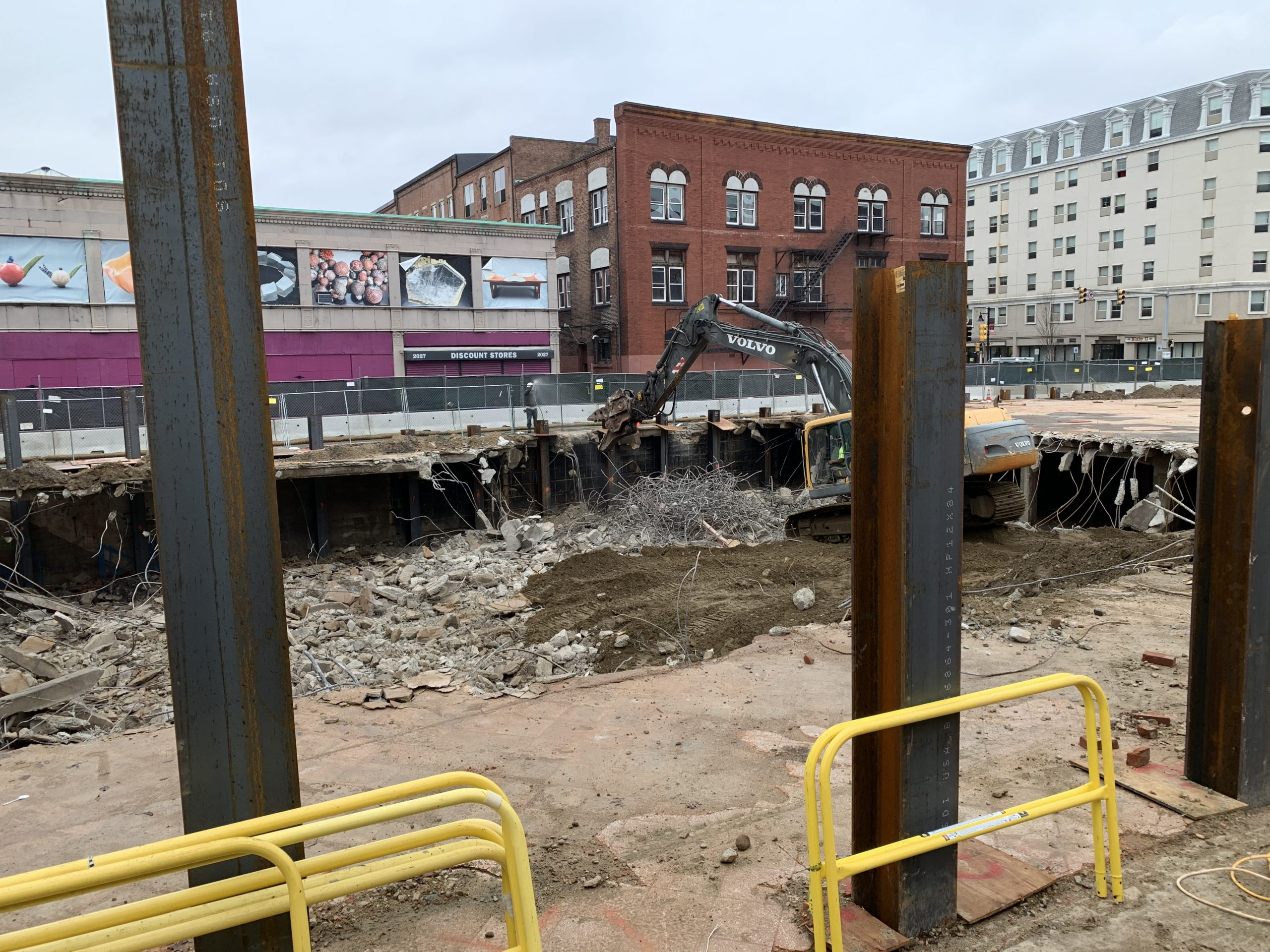Construction begins at Sycamore on Main in Brockton