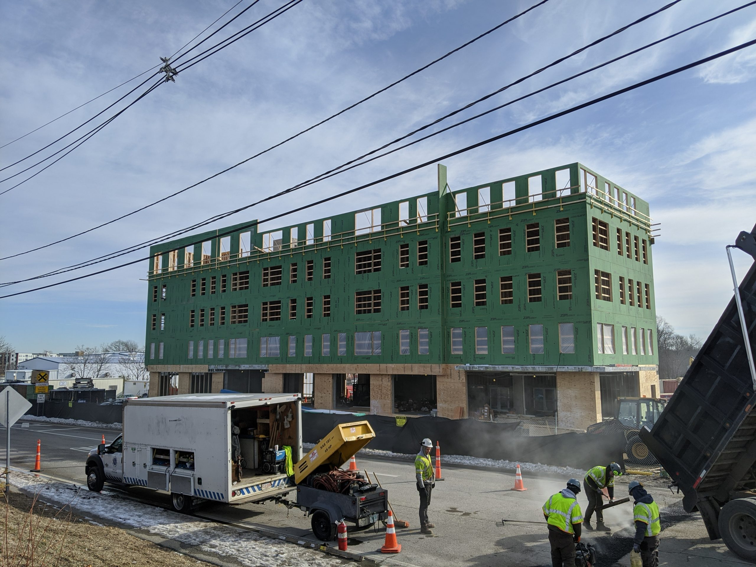 Progress at 1500 Main Street in Weymouth