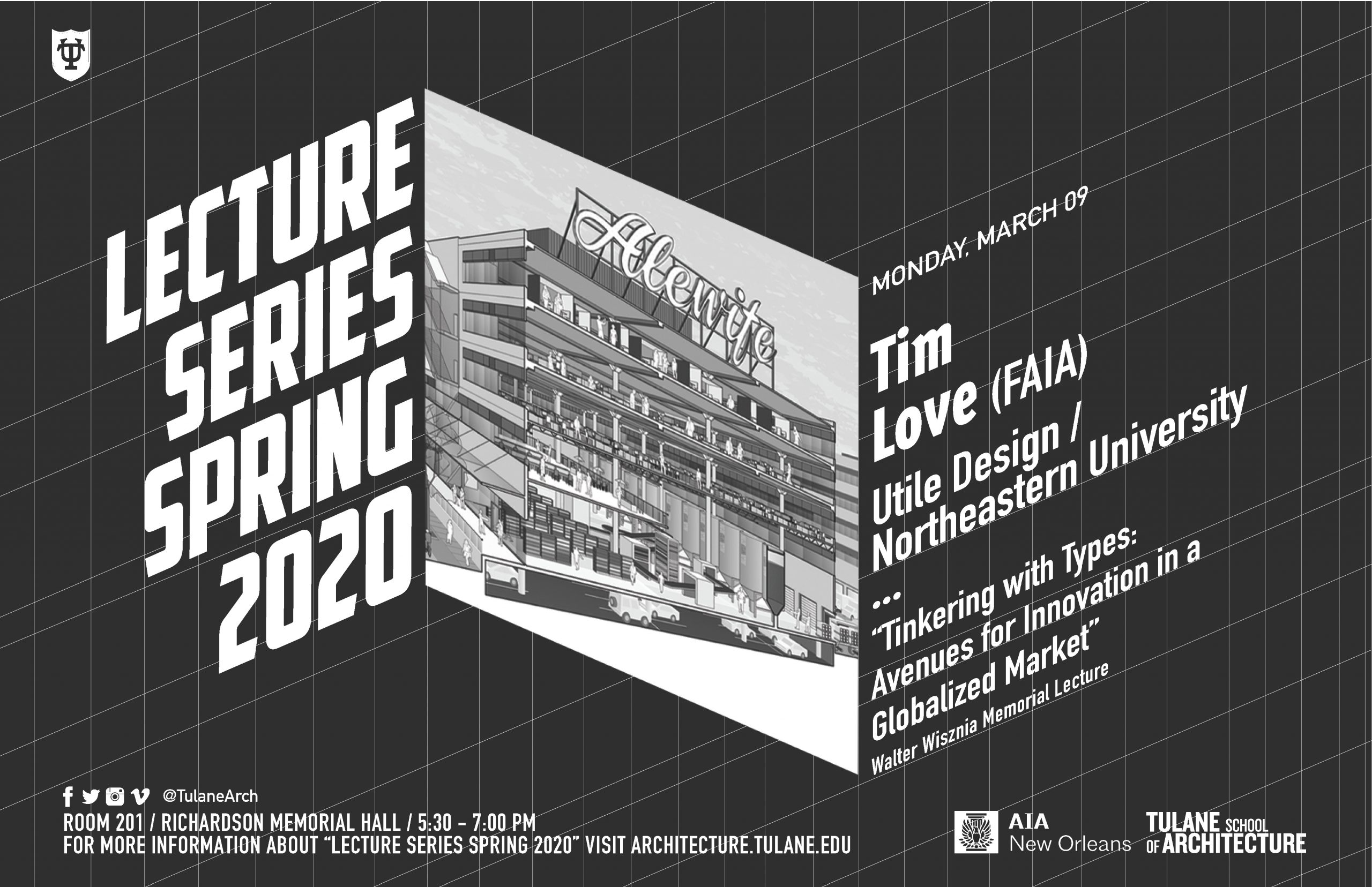 Tim Love to lecture at Tulane School of Architecture