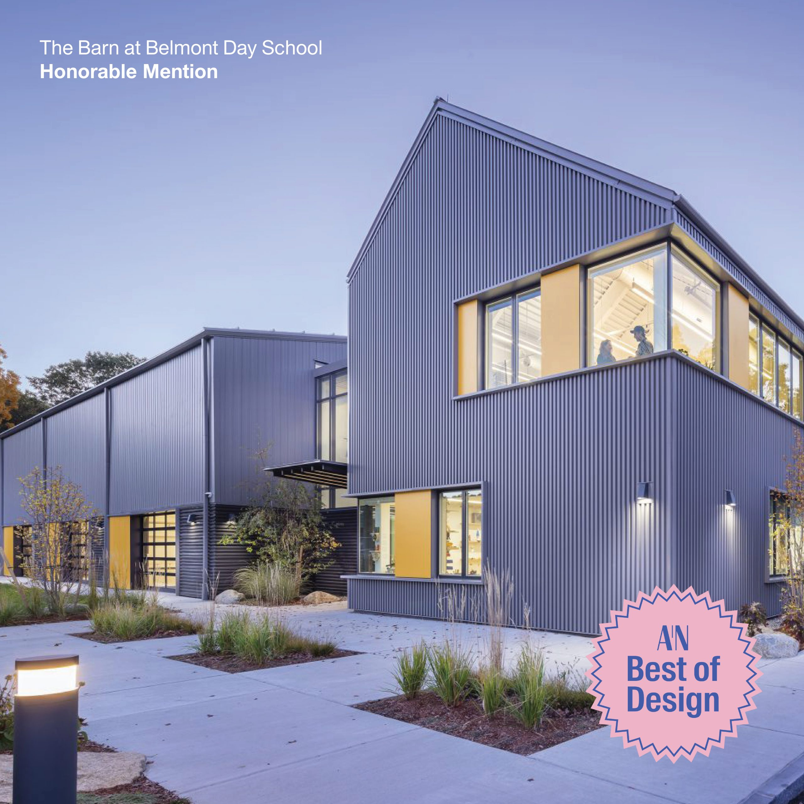 Three Utile projects receive recognition from The Architect's Newspaper Best of Design Awards