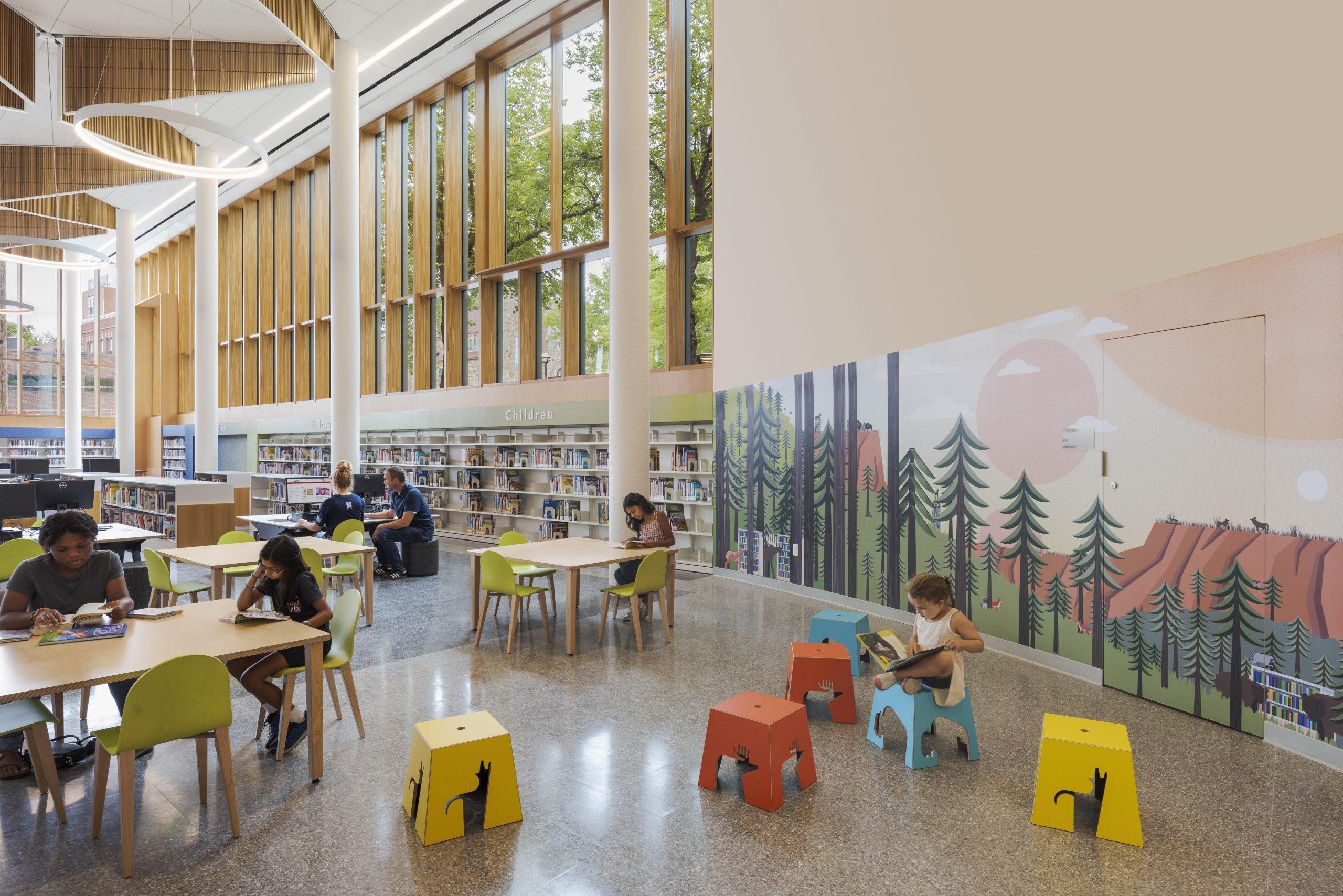 Roxbury Branch of the Boston Public Library Renovation wins 2021 AIA/ALA Library Building Award!