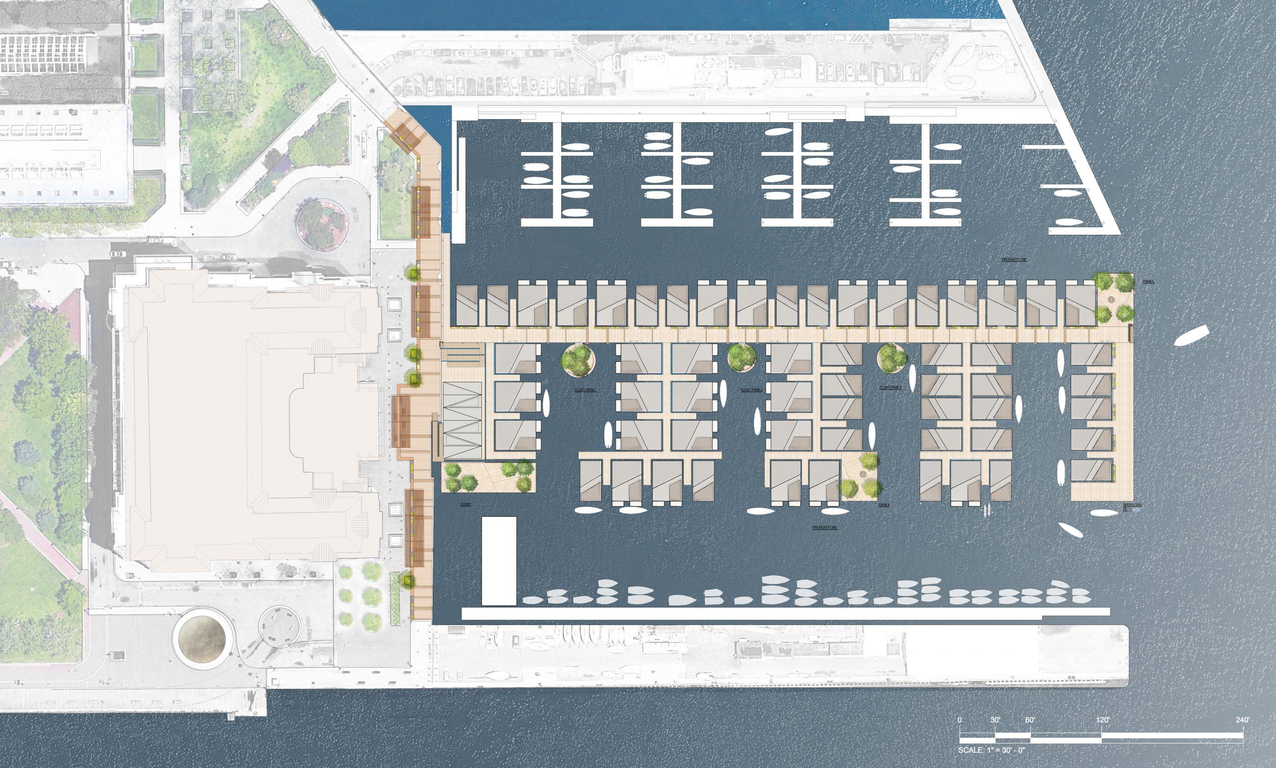 NAVY BLUE: A Pier 5 redevelopment proposal