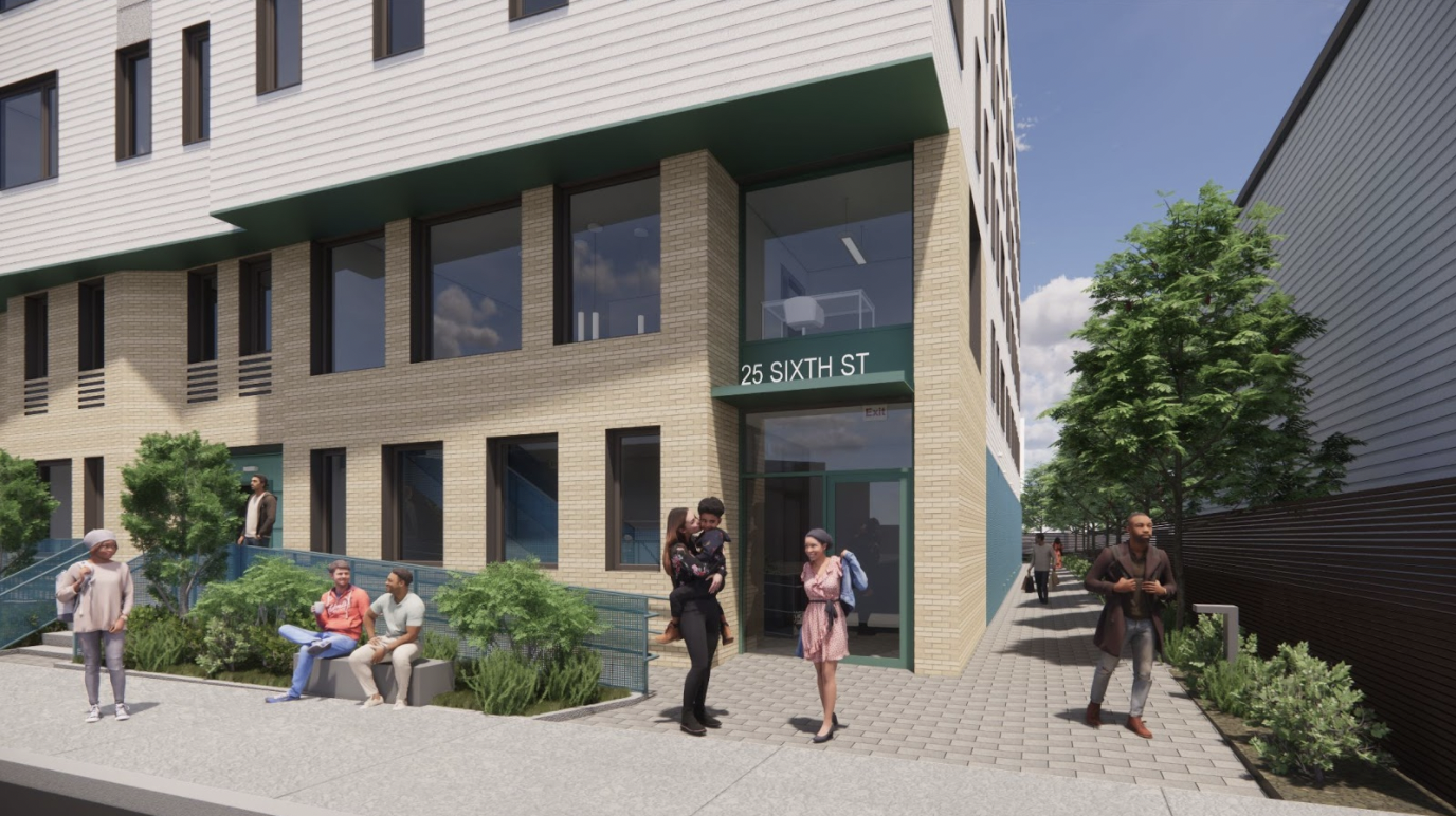 Utile's 25 Sixth Street receives affordable housing funding