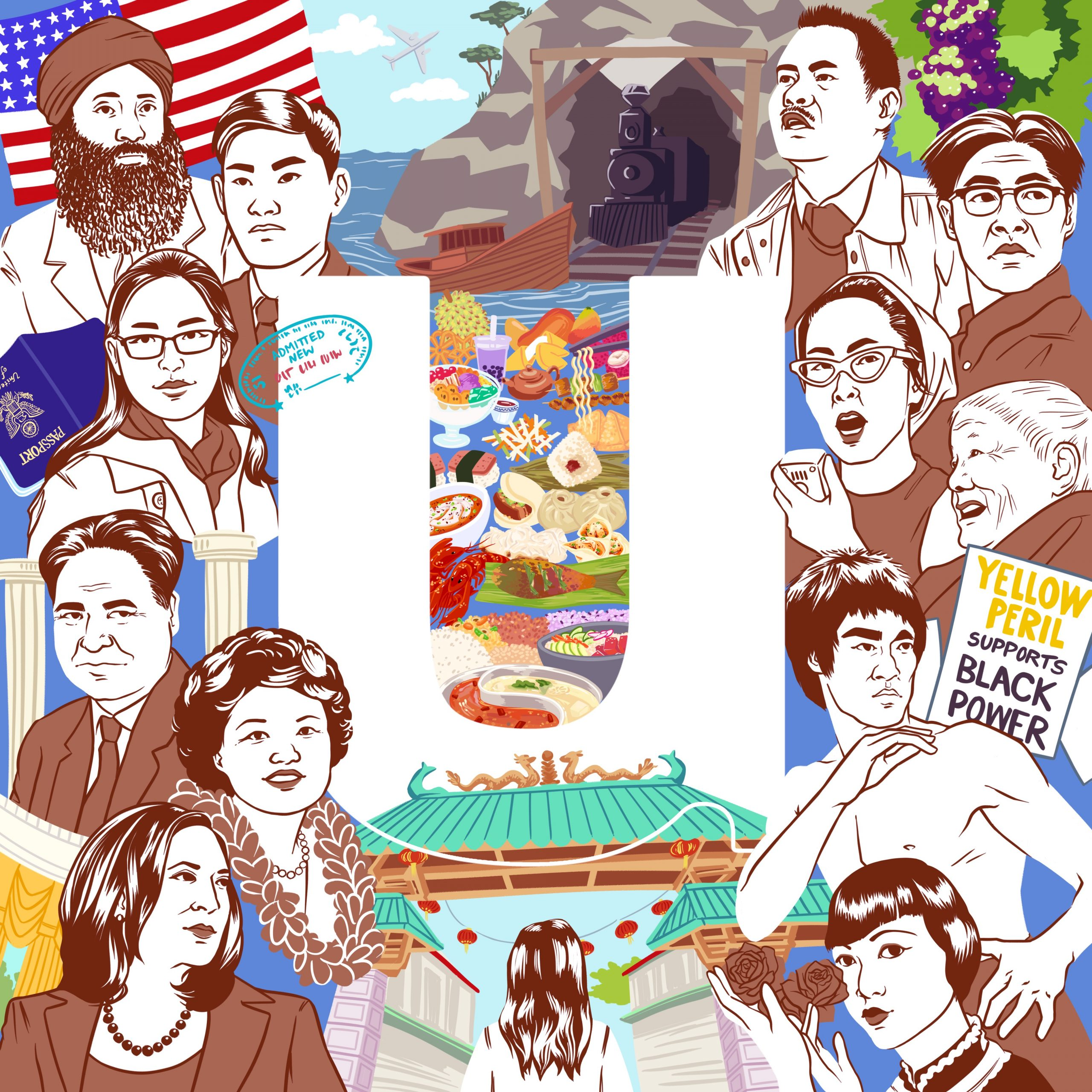 Utile Celebrates Asian American & Pacific Islander Heritage Month with logo design by Olivia Li