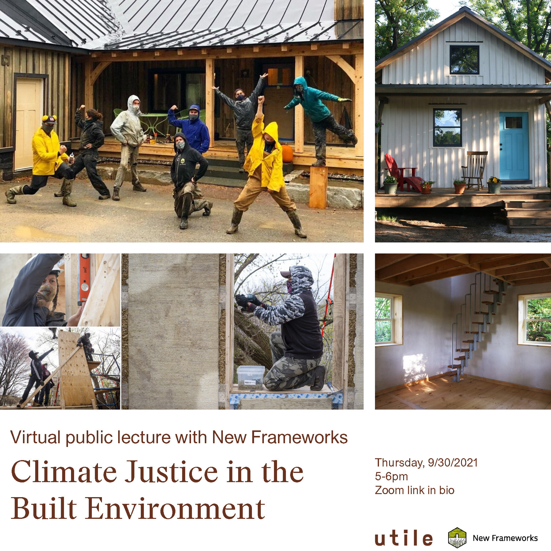 Climate Justice in the Built Environment: Virtual Public Lecture with New Frameworks